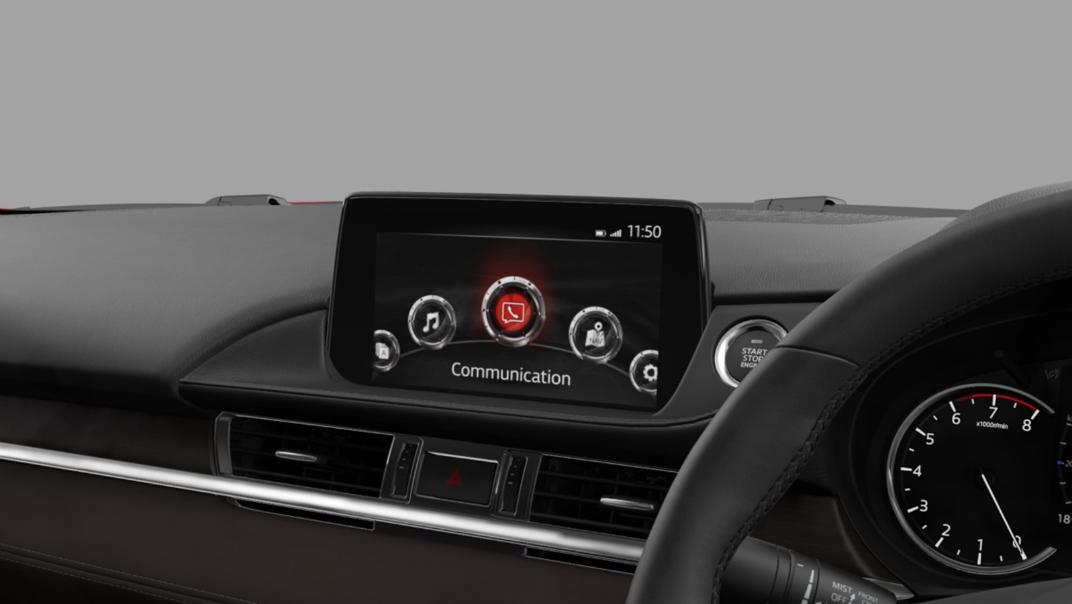 Mazda 6 Elite Estate Interior 093