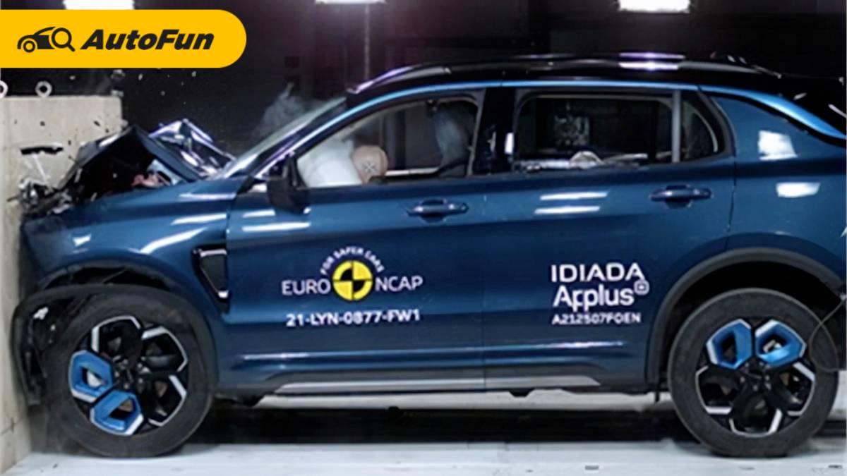 Bukti Kualitas Mobil China, Lynk & Co 01 Dapat Bintang Lima di Uji Tabrak Euro NCAP 01