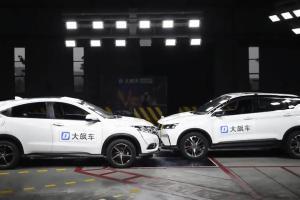 Honda HR-V Remuk Saat Diuji Adu Banteng dengan Mobil Cina Geely, Kalah Fitur Keselamatan
