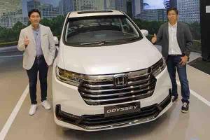 New Honda Odyssey 2021 Hadir dengan Honda SENSING, Rival Toyota Alphard Ini Makin Mewah dan Tampan