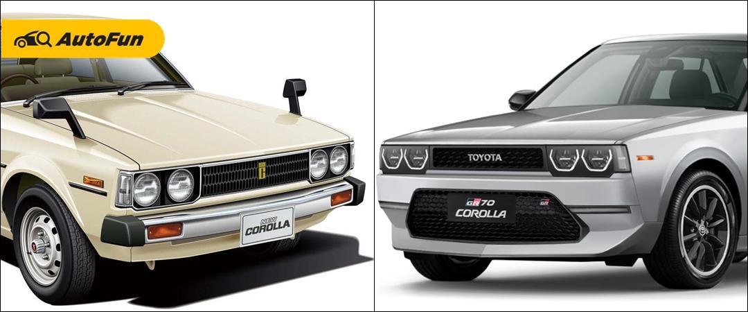 Nostalgia Toyota Corolla DX KE70 Dihadirkan GR70 Corolla, Bikin Kangen 01