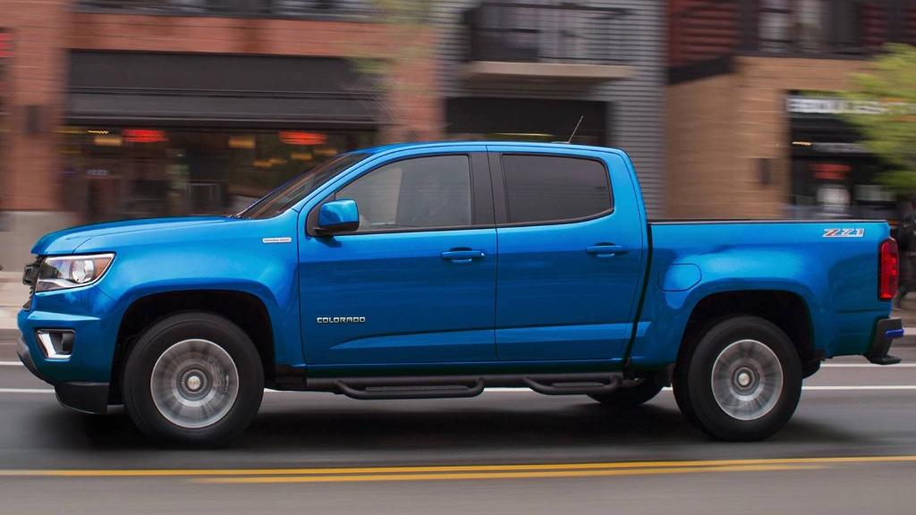 Chevrolet Colorado 2019 Exterior 013