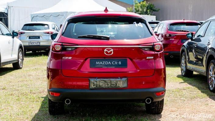 Mazda CX 8 2019 Exterior 006