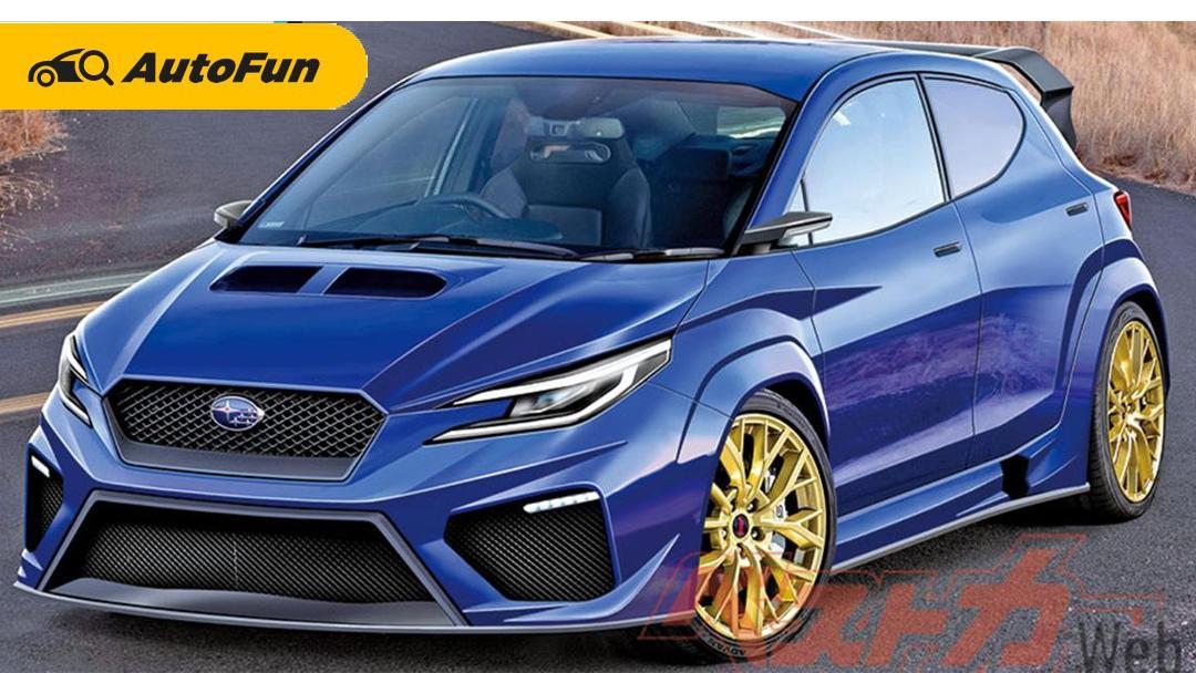 Subaru dan Toyota Siap Hadirkan Hot-Hatch AWD di 2022. Reinkarnasi Subaru Impreza WRX STi 01