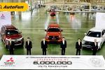 Produksi Mobil ke-6 Juta Unit Tandai 60 tahun Kehadiran Mitsubishi Motors Thailand
