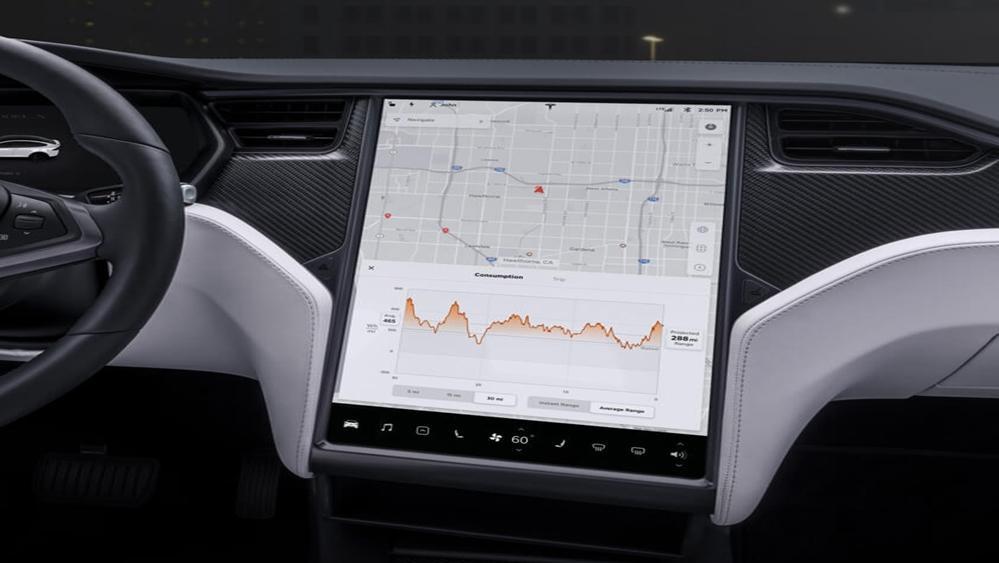 Tesla Model X 2019 Interior 005