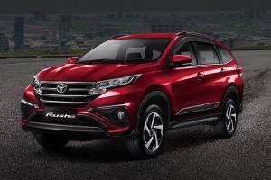 LSUV Terlaris September 2021, Duet Toyota Rush - Daihatsu Terios Tak Terkalahkan