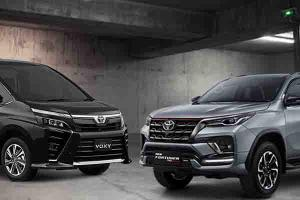Adu Mobil Rp500 Jutaan Beda Segmen, Pilih Toyota Voxy Atau Toyota Fortuner?