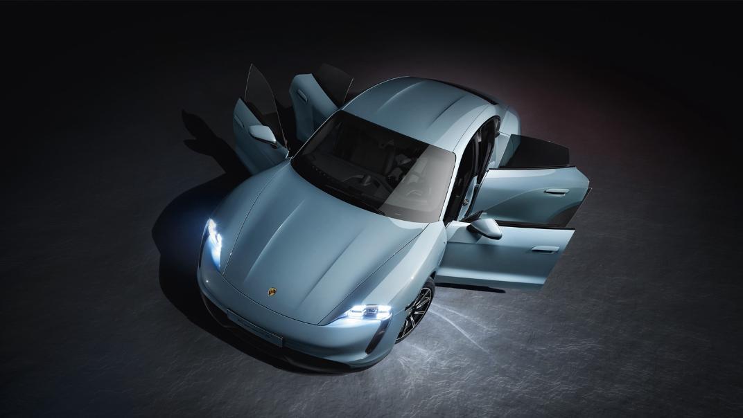 2021 Porsche Taycan Exterior 002