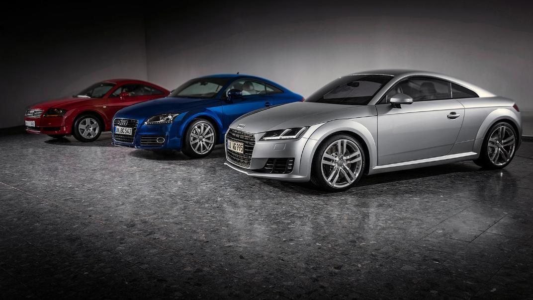 Audi TT Coupe 2019 Exterior 001