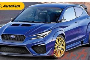 Subaru dan Toyota Siap Hadirkan Hot-Hatch AWD di 2022. Reinkarnasi Subaru Impreza WRX STi