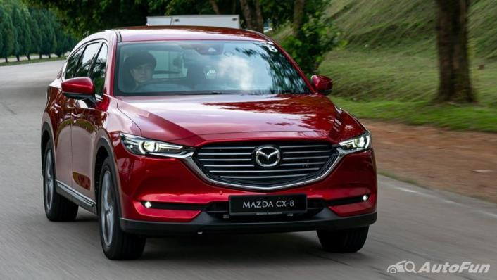 Mazda CX 8 2019 Exterior 003