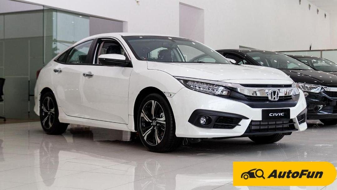 Adu Mobil Honda Setengah Miliaran Rupiah, Pilih Honda Civic 2021 atau Honda CR-V 2021? 01