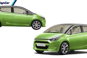 Konsep Daihatsu Ayla 2021 dan Toyota Agya 2021 Hadir di Malaysia