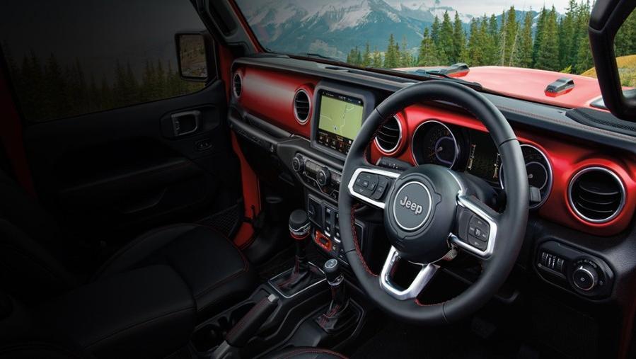 Jeep Wrangler 2019 Interior 001