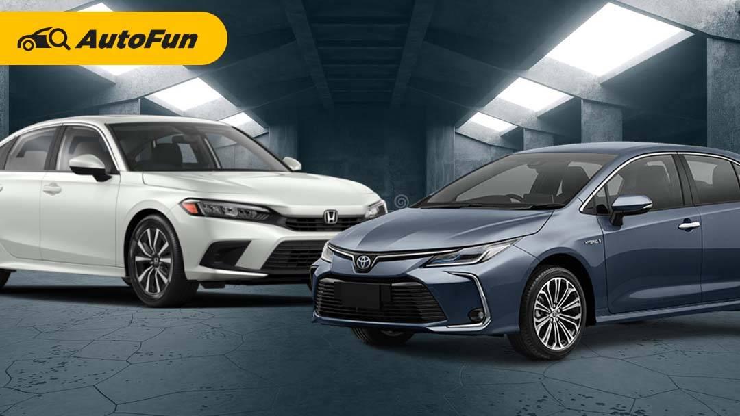 Honda Civic 2022 Vs Toyota Corolla Altis, Mana yang Lebih Unggul dari Segi Spesifikasi? 01
