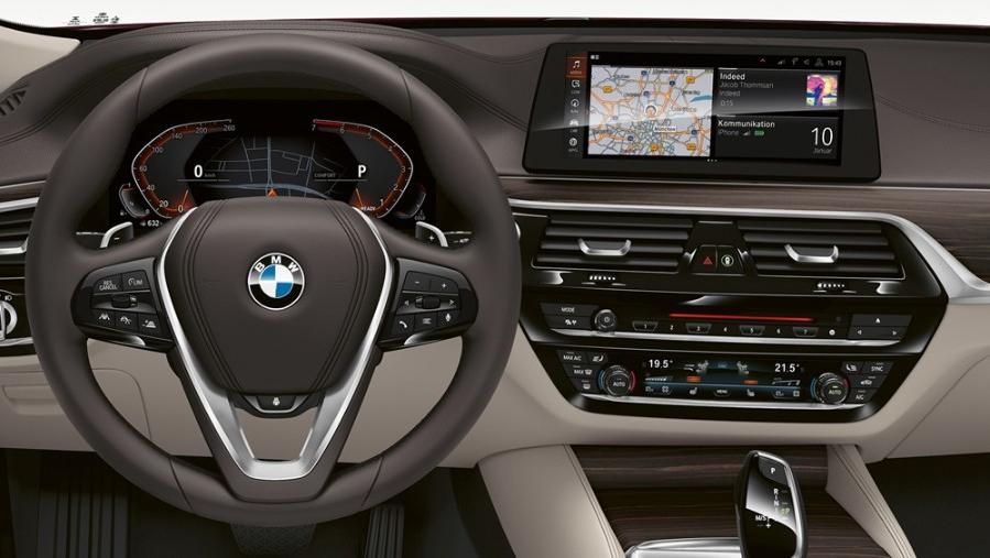 BMW 6 Series Gran Turismo 2019 Interior 003