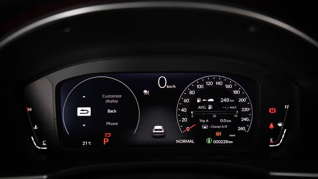 2022 Honda Civic Upcoming Version Interior 016