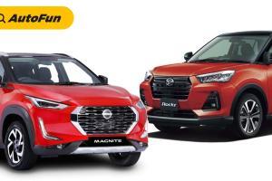 Perang Mesin 1.0L Turbo: Daihatsu Rocky 2021 vs Nissan Magnite 2021. Siapa Paling Ideal?