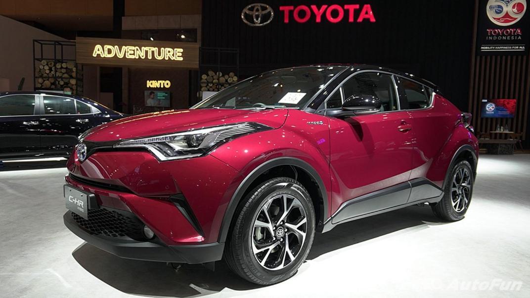 2021 Toyota CHR Exterior 001