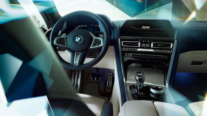 BMW 8 Series Coupe 840i Gran Coupe Interior 001