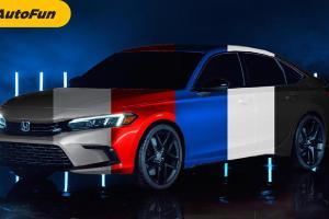 Honda Civic Model Year 2022 Meluncur 28 April Secara Global, Pilihan Warna dan Spesifikasinya Anak Muda Banget