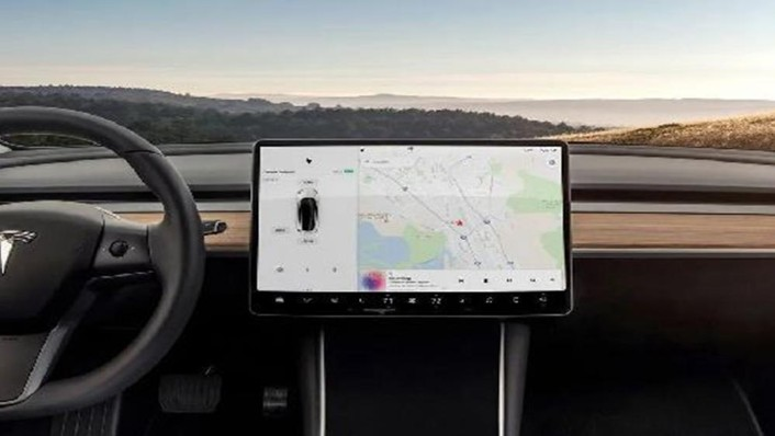 Tesla Model 3 2019 Interior 002