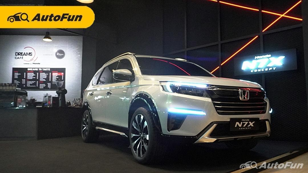 Lihat Calon Honda BR-V 2022 di Dreams Cafe by Honda Sambil Liburan Lebaran 01