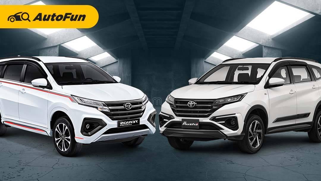 Lupakan Sejenak All New Honda BR-V, Ini Perbedaan Toyota Rush GR Sport dengan Daihatsu Terios IDS 01
