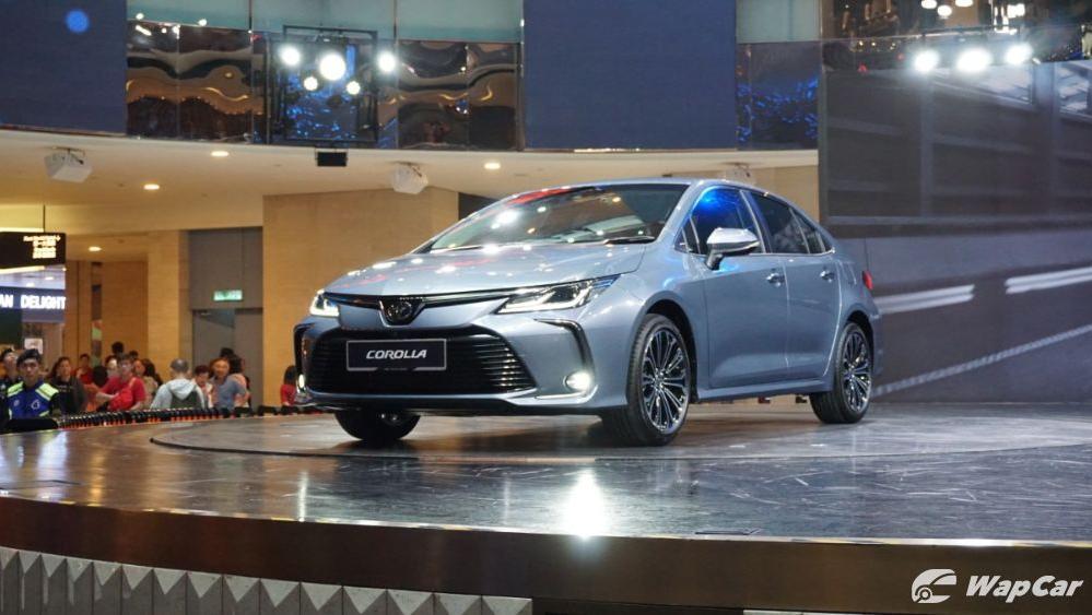 Toyota Corolla Altis 2019 Exterior 002