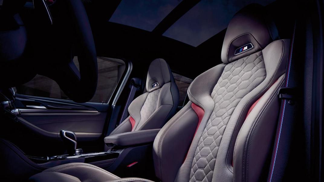 BMW X4 M 2020 3.0L Competition Interior 004