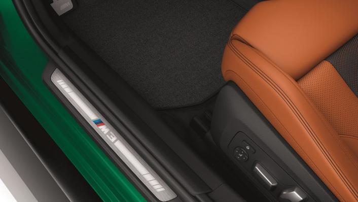 2021 BMW M3 Competition Interior 005