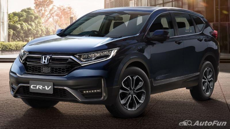Desain eksterior Honda CRV 2021 terlihat sangat maskulin dan tangguh