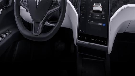 Tesla Model X 2019 Interior 001