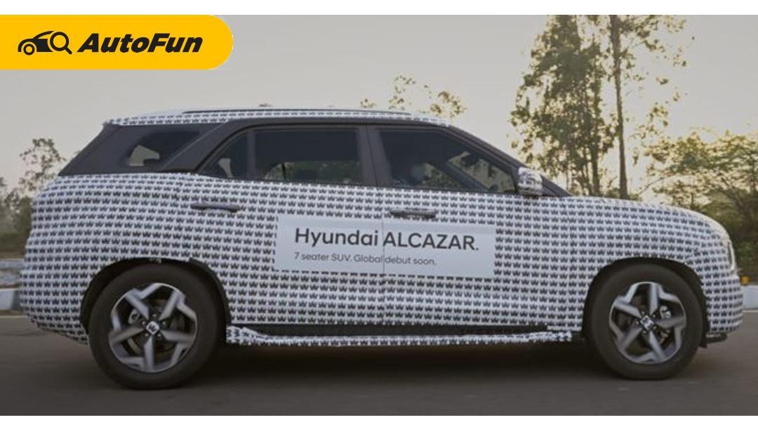 Hyundai Alcazar 2021 Siap Meluncur, Potensial Tantang Toyota Rush di Indonesia 01