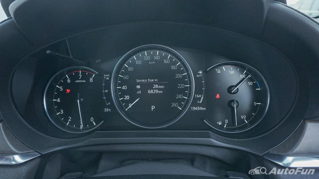 Mazda 6 Elite Estate Interior 008