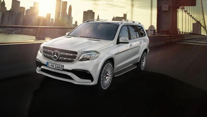 Mercedes-Benz GLS-Class 2019 Exterior 002