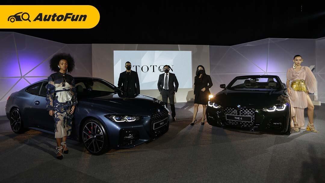 Dua Model BMW The New 4 Resmi Diluncurkan di Indonesia, Tertarik Meminangnya? 01