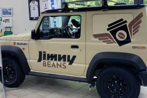 Bukan Buat Offroad, Suzuki Jimny 2021 Ini Malah Diubah Jadi Warung Kopi Keliling