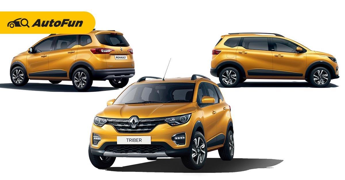 Adu Kepraktisan dan Daya Angkut Renault Triber dengan Datsun Cross 01