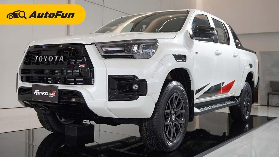 Toyota Hilux Revo GR Sport Meluncur di Thailand, Bukan Cuma Untuk Off-Road 01