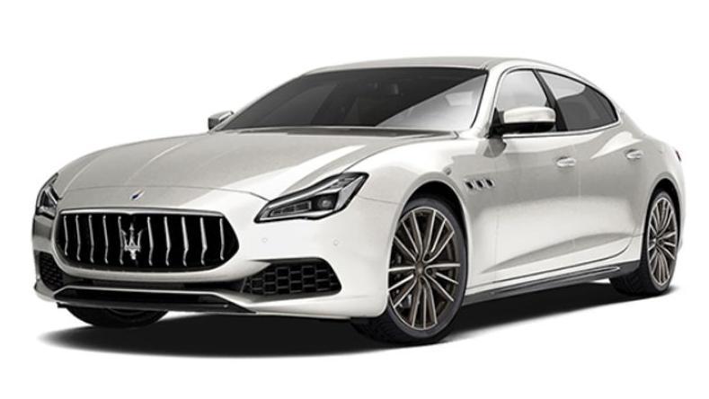 Maserati Quattroporte 2019 Exterior 006