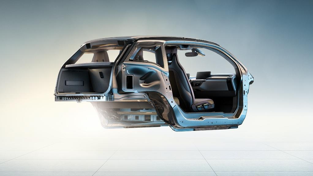 BMW I3s 2019 Interior 012
