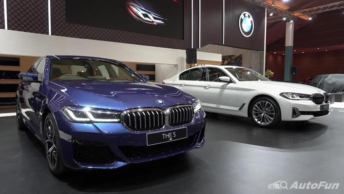 2021 BMW 5 Series Sedan Exterior 008