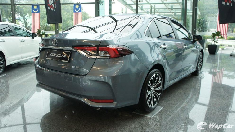 Toyota Corolla Altis 2019 Exterior 007