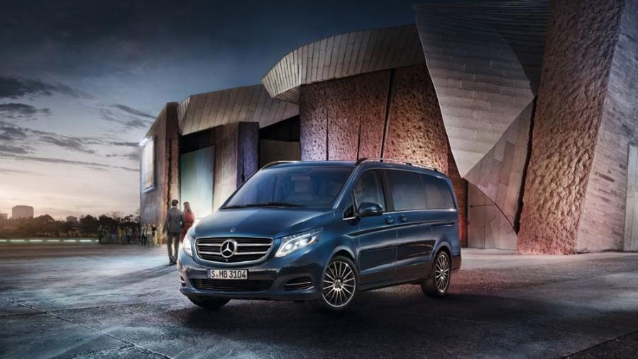 Mercedes-Benz V-Class 2019 Exterior 007