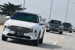 FAQ: Teknologi 'Shift By Wire' di New Hyundai Santa Fe, Cuma Pencet Tombol Buat Oper Gigi?