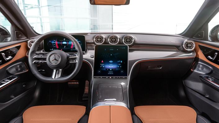 2021 Mercedes-Benz C-Class W206 Upcoming Version Interior 006