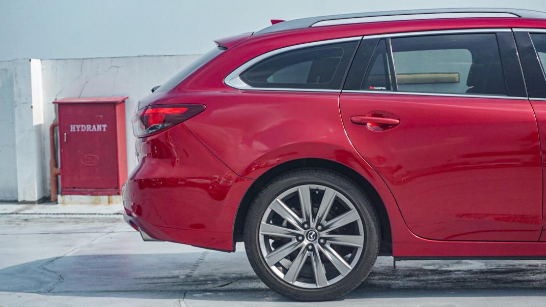Mazda 6 Elite Estate Exterior 032