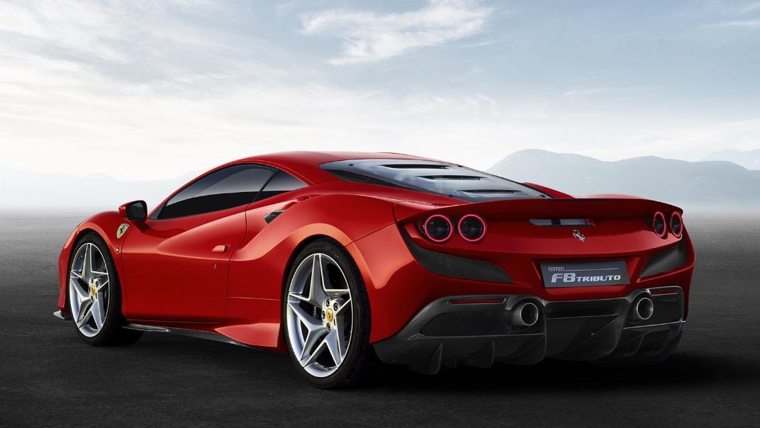 Ferrari F8 Tributo 2019 Exterior 005